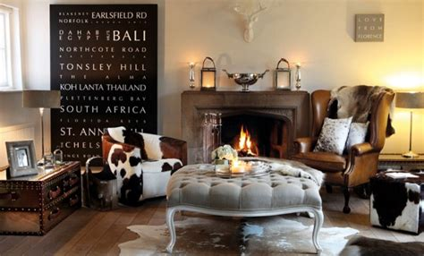 Cowhide Home Decor by Cowhide Chairs Inspiring Spaces Horses Heels