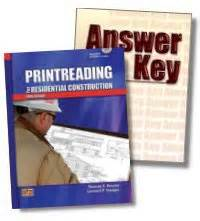 Print Reading Printreading For Residential Construction