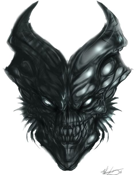 evil demonic skulls drawings video search engine