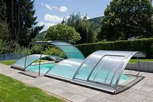 Abri Piscine Bas Coulissant : abri piscine amovible abrisud abri piscine sur mesure ~ Zukunftsfamilie.com Idées de Décoration