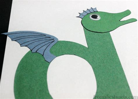 preschool alphabet book lowercase letter d from abcs to 480 | D Dragon Craft for Preschoolers