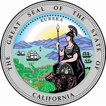 California Svg Seal State Stateseal Laws Church