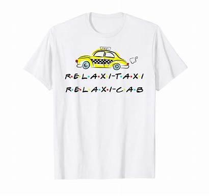 Relaxi Taxi Cab Funny