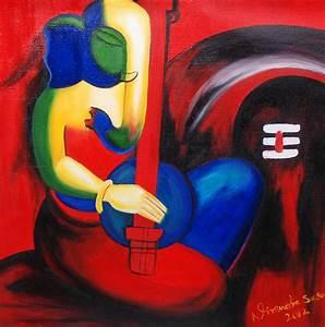 Lord Ganesha Making Music by Nirendra Sawan