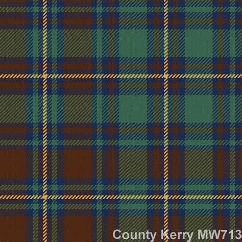 irish county tartan kilt mediumweight wool sport kilt