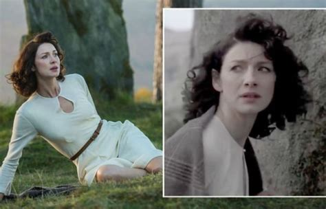 'Spooky' Claire Fraser moment at Craigh Na Dun exposed by ...