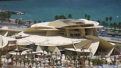 Nationalmuseum Katar In Doha jean nouvel s interlocking disc formed qatar national