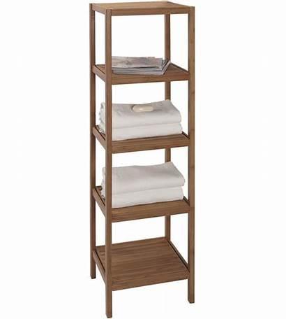 Bamboo Shelving Unit Bathroom Shelves Shelf Bath