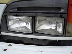 Isuzu Headlight Assembly Npr Nqr Gmc W3500 W4500 W5500