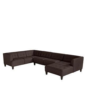 Alessia Leather Sectional Sofa by Alessia Leather Sectional Sofa 3 139 Quot W X 89 Quot D X 28
