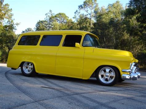 1957 Chevy Suburban Restomod Pro Touring Hot Rod Power