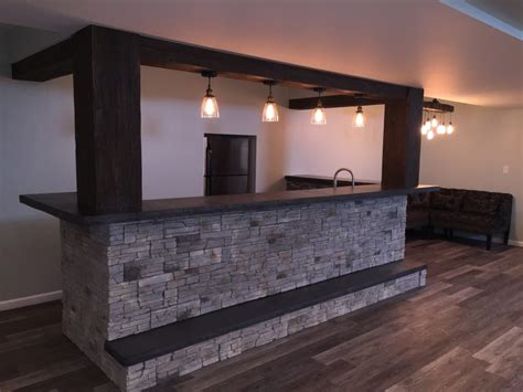 stunning design building ideas see an basement bar design faux wood workshop