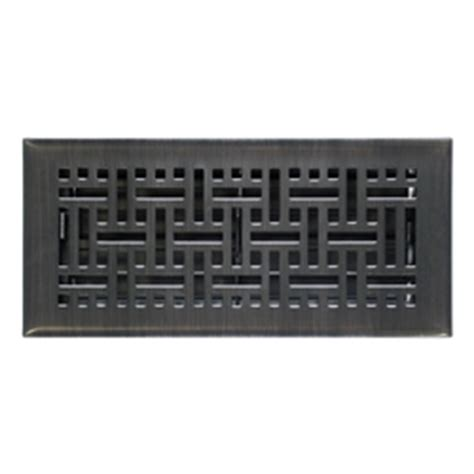 rubbed bronze floor registers 2x10 rubbed bronze wicker floor register