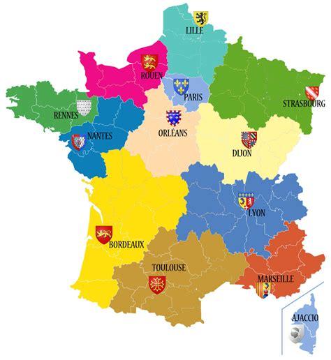 Nouvelle Carte De Region Et Departement by Infos Sur Carte Nouvelle Region Arts Et Voyages