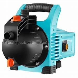 Gardena Pumpe 3000 4 : gardena classic 3000 4 garden pump tech specs ~ Lizthompson.info Haus und Dekorationen