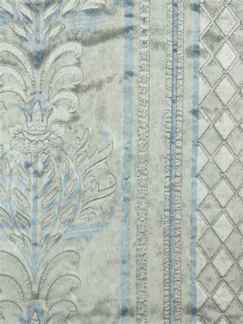 maia antique damask rod pocket velvet curtains custom