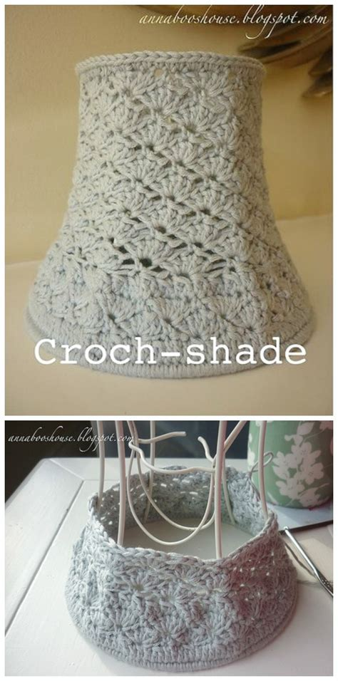crochet lamp shade  pattern instructions