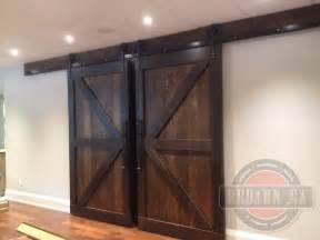 Bypass Shower Door Hardware by Sliding Barn Doors Rebarn Toronto Sliding Barn Doors