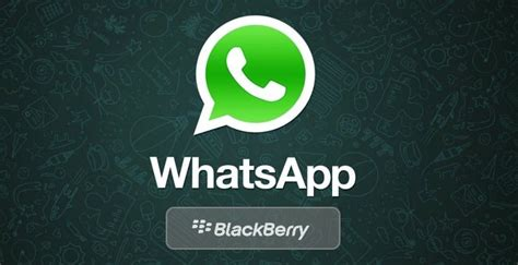 whatsapp per blackberry e installazione