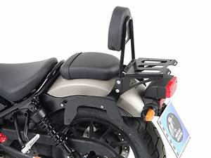 Honda Cmx 500 Rebel : sissybar with rear rack honda cmx 500 rebel 2017 ~ Medecine-chirurgie-esthetiques.com Avis de Voitures