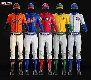 The Most Realistic Baseball Uniform Photoshop Template