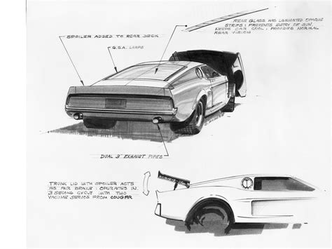 Ford Mustang Mach 1 Concept 1966 Exotic Car Wallpaper 03