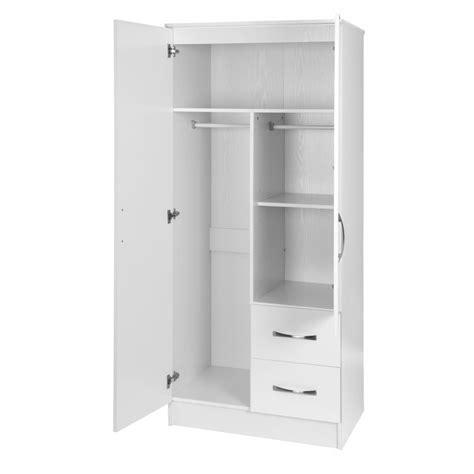 Mirrored Wardrobe With Shelves by Marina White Gloss 2 Door Mirrored Combi Wardrobe Ark