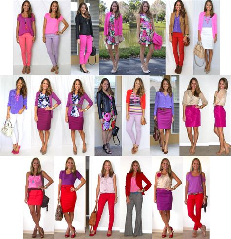 12 Outfit Ideas Red Pink and Purple u2014 Ju0026#39;s Everyday Fashion
