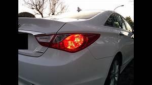 Hyundai Sonata 2011-2014 Tail Light Installation