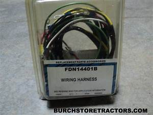 New Wiring Harness For Ford Tractor Models 700  640  650