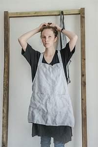Not Perfect Linen : hafen not perfect linen short square cross linen apron silver washed apron rakuten ~ Buech-reservation.com Haus und Dekorationen