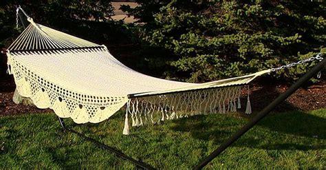 ways to hang a hammock 12 different ways to hang a hammock