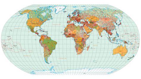 world map  countries names vector   vector
