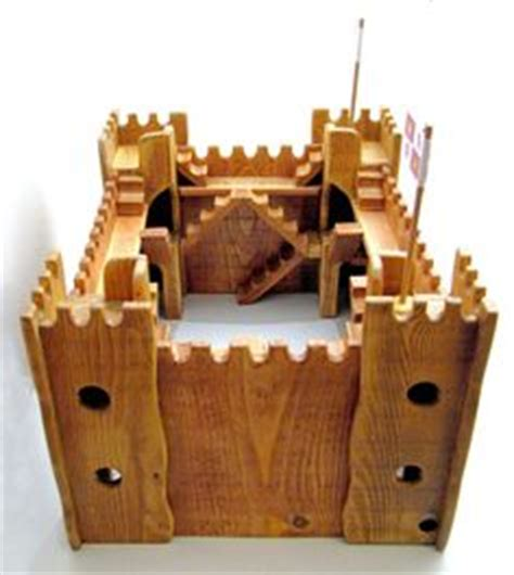 toy castles forts  children kids wooden castles