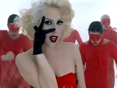 The Art Of Gaga Lady Gaga's Bad Romance Music Video