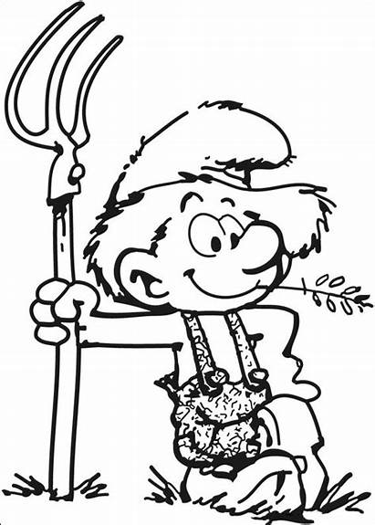 Smurfs Coloring Pages Smurf Printable Cool