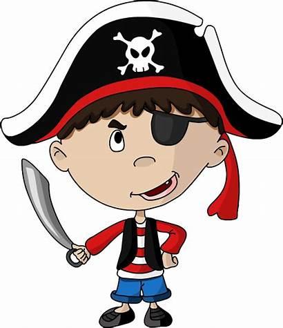 Pirate Clip Patch Eye Transparent Clipart Kid