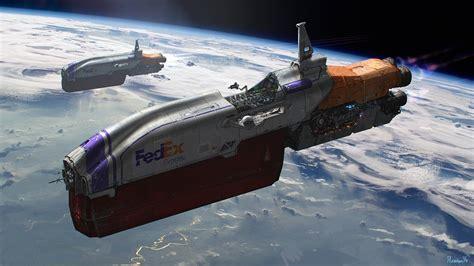 spaceship, Fedex, Space HD Wallpapers / Desktop and Mobile ...