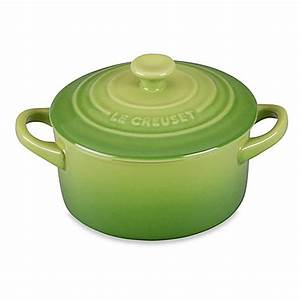 Le Creuset Cocotte : buy le creuset mini round stoneware cocotte in palm from bed bath beyond ~ Buech-reservation.com Haus und Dekorationen