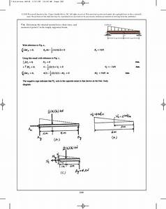 Draw The Shear And Moment Diagrams For Beam Hibbeler