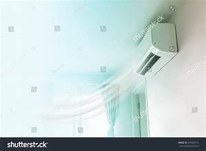 Air Conditioner On Wall Background Stock Photo 314025512 ...