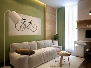 Wohnzimmer Ideen Grün : wohnideen wohnzimmer ein ruhiges gef hl durch die farbe ~ Lizthompson.info Haus und Dekorationen
