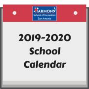 academic calendar harmony school innovation san