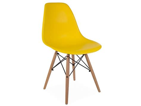 Chaises Jaunes Moutarde by Chaise Dsw Jaune Moutarde