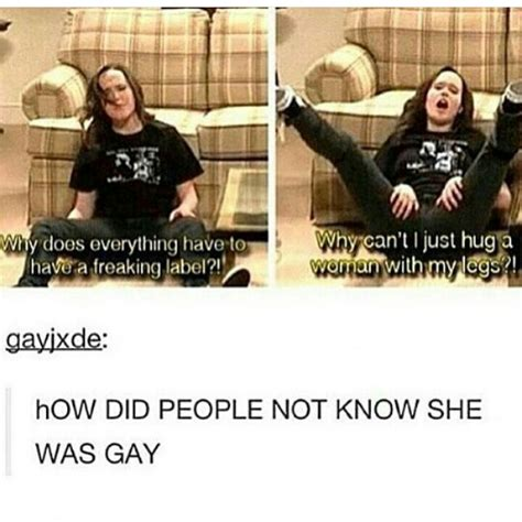 Lesbian Meme - lgbt tumblr because i gay pinterest lgbt gay and random