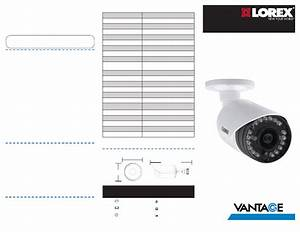 Lorex Surveillance System With 4 Security Cameras And 16