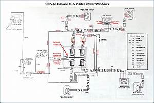 Power Window Conversion - 1966 Thunderbird Switches In 1966 Galaxie