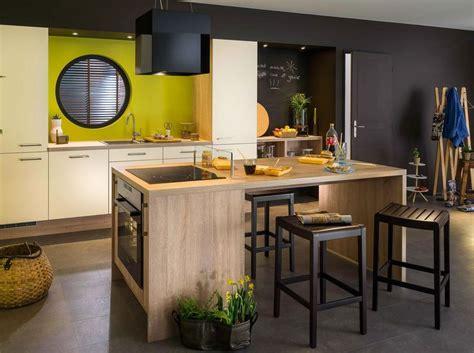 cuisine avec plaque de cuisson en angle cuisine avec ilot central plaque de cuisson ilot central