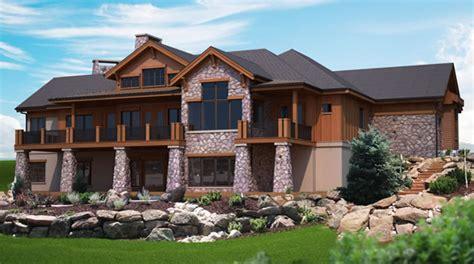 hillside home plans unique hillside house plans 9 hillside house plans with walkout basement smalltowndjs