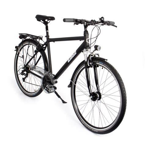 Gregster Herren Aluminium City Bike Fahrrad Stvzo Schwarz 28 Zoll Gr 6664 De Sport